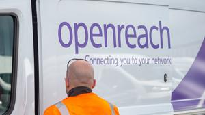 Openreach has said usage of its network has surged by about 20% as a growing number of people turn to the internet for work and entertainment during the coronavirus outbreak (Joe Giddens/PA)