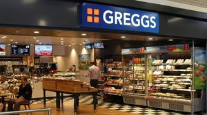 A Greggs outlet, pictured before the lockdown (Greggs/PA)