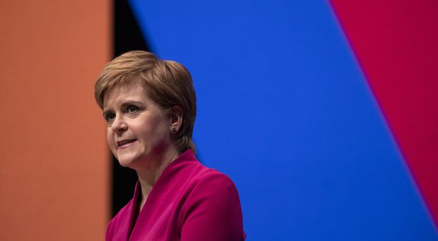 Nicola Sturgeon is the first female first minister of Scotland (Jane Barlow/PA)
