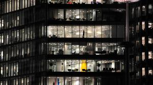 A survey has shown about 88% of chief financial officers see business uncertainty as above normal to very high
