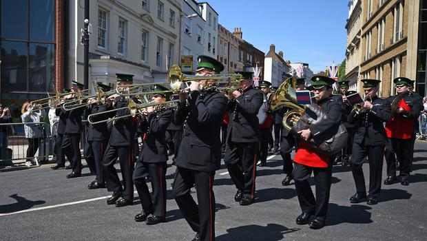 Some 250 members of the armed forces are expected to take part in Saturday's festivities (Kirsty O'Connor/PA)