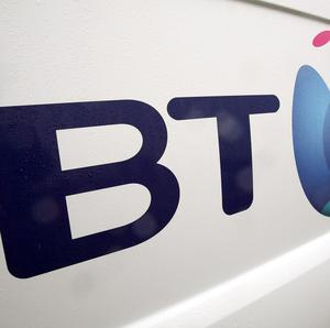 BT employs over 2,300 people in Northern Ireland