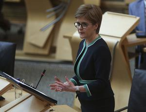 Nicola Sturgeon has pledged to be open and transparent with the Scottish public (Fraser Bremner/Daily Mail/PA)