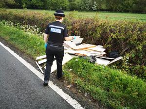 The lockdown has seen increased fly tipping (Essex Police)