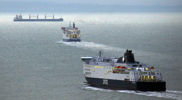 Contracts to provide ferry services after a no-deal Brexit have been cancelled at a cost estimated at around £50m (Gareth Fuller/PA)