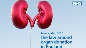 The law in England has shifted to an opt-out system for organ donation (NHS Blood and Transplant/PA)