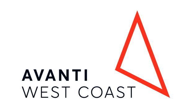 The Avanti West Coast logo symbolises its 400-mile network which links London with towns and cities across England, North Wales and Scotland (Avanti West Coast/PA)