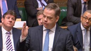 Nigel Adams faced questions in the Commons (House of Commons/PA)