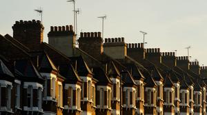 The value of private homes has soared in the past year, a new report says