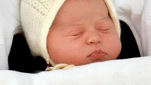Princess Charlotte, who will be christened by Archbishop of Canterbury Justin Welby at St Mary Magdalene Church in Sandringham on Sunday July 5