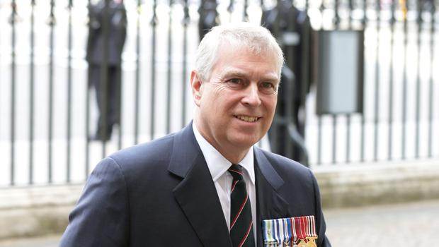 The Duke of York at Westminster Abbey in London (Yui Mok/PA)