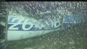 Part of the wreckage of the plane which crashed during a flight with footballer Emiliano Sala on board (AAIB/PA)