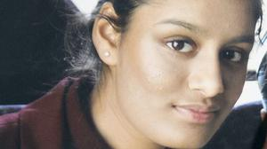 Shamima Begum – the east London schoolgirl who travelled to Syria to join the so-called Islamic State group (PA)