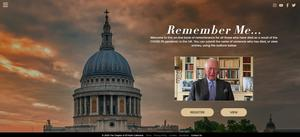 Screengrab from the website of the Remember Me initiative (St Paul's Cathedral/PA)