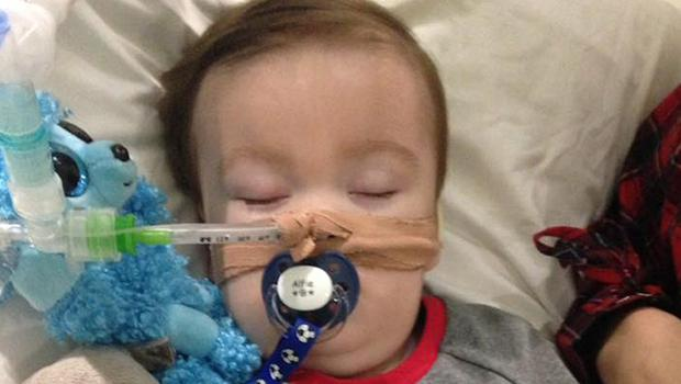 Alfie Evans died on Saturday after a protacted legal battle relating to his care (Alfie's Army Official/PA)