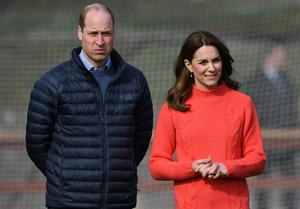 William and Kate have said supporting the mental health of frontline workers is now their priority. Facundo Arrizabalaga/PA Wire