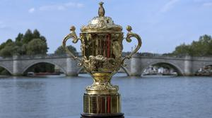 The Webb Ellis Cup - police are urging fans not to buy tickets for the Rugby World Cup from touts