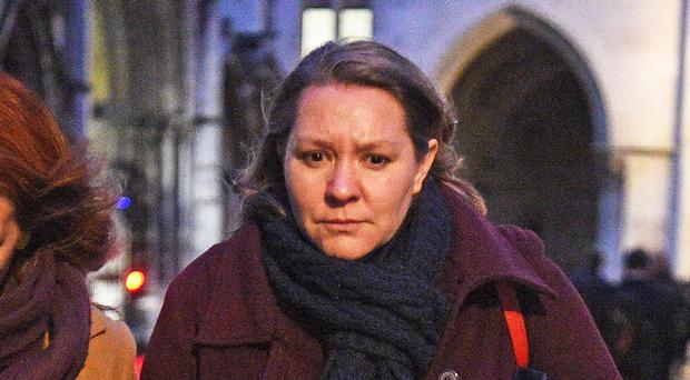 Anna Turley outside the Royal Courts of Justice (Kirsty O'Connor/PA)
