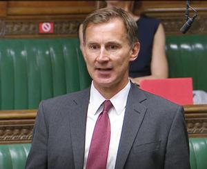 Committee chairman Jeremy Hunt says the social care sector needs a 10-year plan (House of Commons/PA)