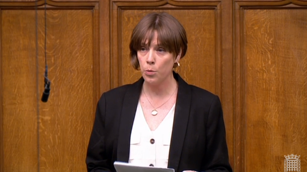 Labour MP Jess Phillips addresses the House of Commons (PA)