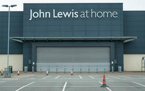 The John Lewis at Home store in Croydon, is one of eight of the retailer's store which will be permanently closed. (Dominic Lipinski/PA)
