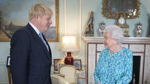 The Queen as she invited Boris Johnson to form a government (Victoria Jones/PA)