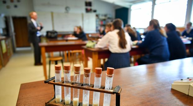 Those training to teach chemistry, physics and modern foreign languages from 2020/21 are to be given £6,000 over four years (PA)
