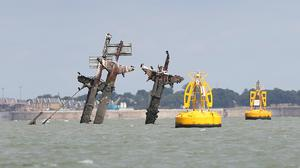 The SS Richard Montgomery is protected by an exclusion zone (PA)
