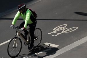 Transport Secretary Grant Shapps has pointed to active transport methods such as cycling as a way for workers to stay healthy going to and from work (Aaron Chown/PA)