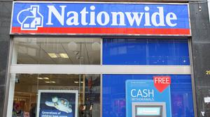 Nationwide Building Society is among several providers which have reduced branch opening hours and/or temporarily closed branches to combat coronavirus (PA)