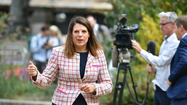 Former immigration minister Caroline Nokes said more women are needed in the Cabinet (Dominic Lipinski/PA)