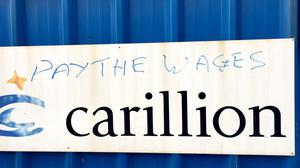 Carillion was owed money by the Government, say sources (Pat Hurst/PA)