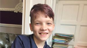 Nine-year-old Max Clark, who lost a leg when he was hit by Jerome Cawkwell riding a motorcycle in Hull (Humberside Police/PA)
