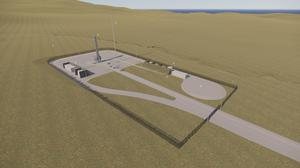 The space port is one step closer to launch (Norr Architects/HIE/PA)