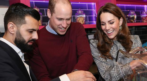 The duke and duchess on their visit to Bradford (Chris Jackson/PA Wire)