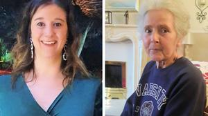 BEST QUALITY AVAILABLE Undated handout photos issued by Sussex Police of Amy Appleton, 32, (left) and Sandy Seagrave, 76, who were both killed outside a semi-detached house in a quiet street in Crawley Down on 22 December 2019 (Sussex Police/PA)