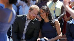 The Duke and Duchess of Sussex are quitting as senior royals (Phil Noble/PA)