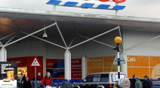 Tesco said it would write to Labour to complain over an 'unfair' attack on its staffing policies