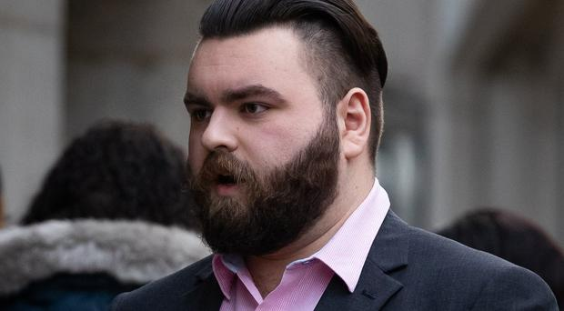 Andrew Dymock arrives at the Old Bailey (Aaron Chown/PA)