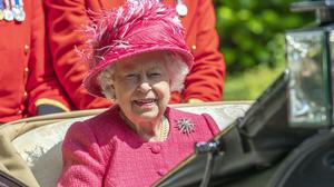 The Queen in her carriage at Royal Ascot in 2019 (Steve Parsons/PA)