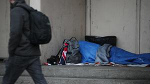 The number of homeless applications increased last year, according to statistics (Yui Mok/PA)