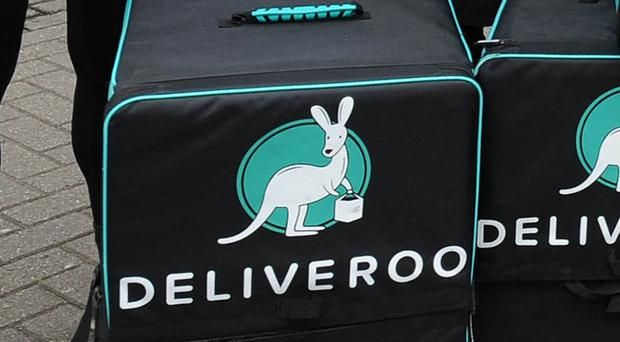 A Deliveroo ad has been banned for being misleading (Rui Vieira/PA)