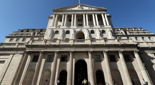 The Bank of England is expected to keep interest rates unchanged on Thursday in its first meeting since Boris Johnson's election victory (PA)