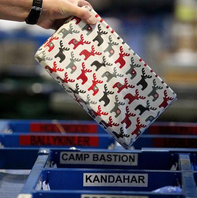 Every soldier in Helmand Province will get a box to open on Christmas Day courtesy of UK4U