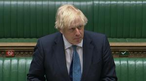 Boris Johnson admitted the number of deaths in care homes has been 'too high' and announced a £600m package for infection control (House of Commons/PA)