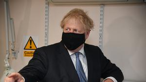 Prime Minister Boris Johnson has announced there would be a delay in the further easing of lockdown restrictions (Evening Standard/Jeremy Selwyn/PA)