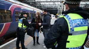 Humza Yousaf is looking at alternatives to controversial merger of railway policing in Scotland (Andrew Milligan/PA)