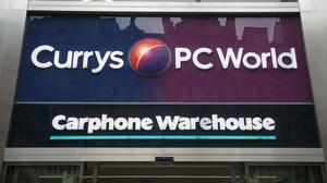 Currys PC World owner Dixons Carphone is to cut 800 jobs (Yui Mok/PA)