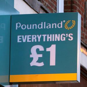 Poundland said its profits have jumped by a third as it continues to attract value-conscious shoppers and adds new stores to its estate
