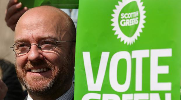 Patrick Harvie, co-leader of the Scottish Greens, said parties should focus on their own campaigns (PA)